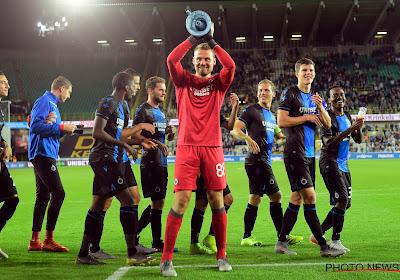 """Simon Mignolet satisfait de sa première avec le Club de Bruges : """"Cette équipe peutréaliser de belles choses sur la scène européenne"""""""