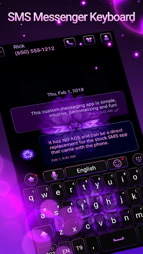 Latest keyboard and SMS theme 2020 screenshots 1
