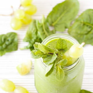 Green Goddess Grape Smoothie.