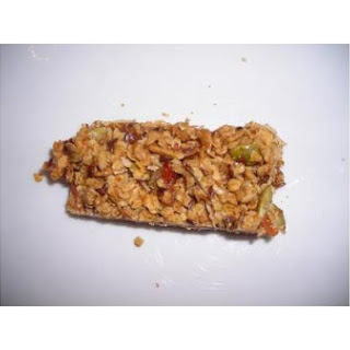 Homemade High-Energy Granola Bars.