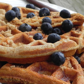 Spiced Waffles.