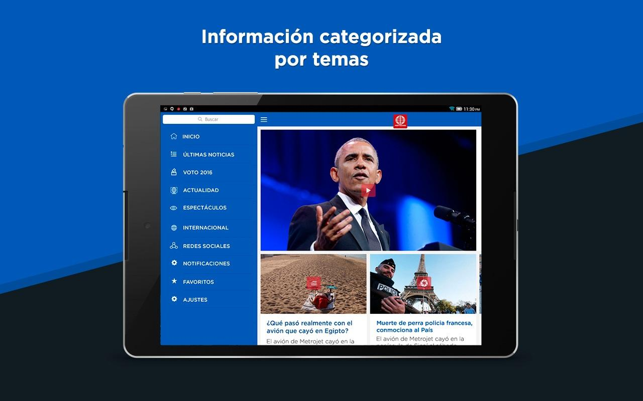 América Noticias- screenshot