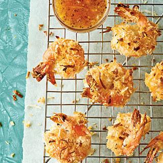 Coconut (Un-)Fried Shrimp.