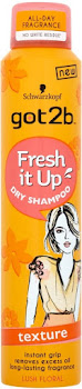 Schwarzkopf Got2b Fresh It Up Texture Lush Floral Dry Shampoo - 200ml