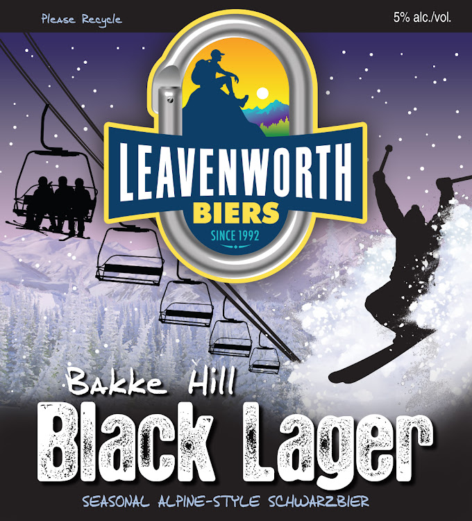 Logo of Leavenworth Bakke Hill Black Lager