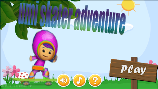 umi skater adventure screenshot 0