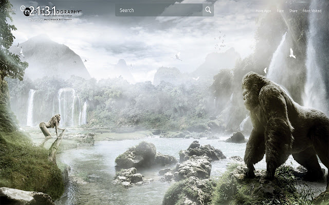 Rampage Movie Wallpapers Theme New Tab