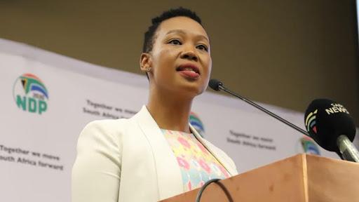 Communications and digital technologies minister Stella Ndabeni-Abrahams. (Source: Twitter)