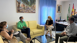 Reunión en el Ayuntamiento de La Mojonera