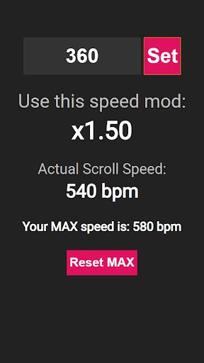 DDR MAX Speed Mod Calculator 1.0.0 screenshots 2