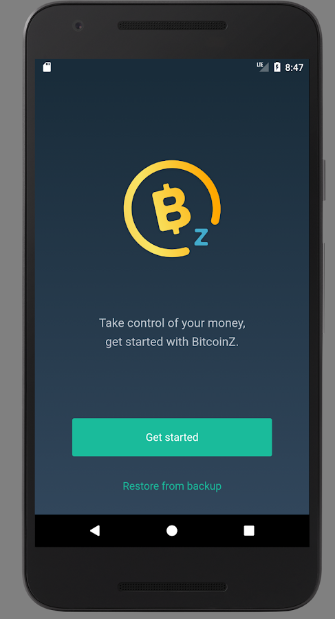 BTCZ Wallet- screenshot