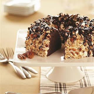 Marshmallow Nut Chocolate Cake.