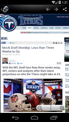 Tennessee Football News - screenshot