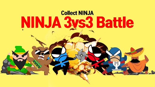 Jumping Ninja Battle - Two Player battle Action apkdebit screenshots 3