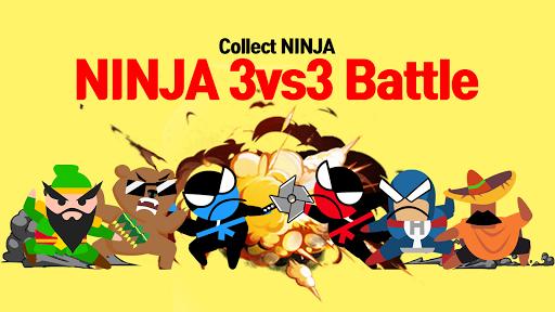 Jumping Ninja Battle - Two Player battle Action 3.95 screenshots 3