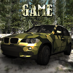 Hill Offroad SUV 3D Icon