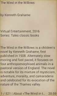 The Wind in the Willows - náhled