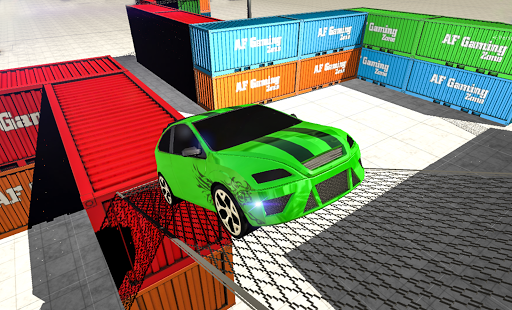 Offroad Car Parking: Challenge Screenshot