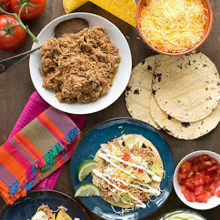 Slow Cooker Mexican Chicken Taco Meat.