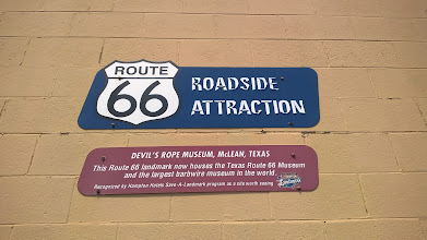Photo: August 9-This is pretty much THE attraction in McClean, TX.