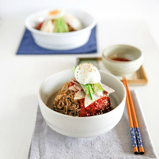Bibim Naengmyeon (Korean Spicy Cold Noodles) Recipe