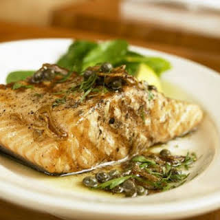 Med-style Fish with Parsley.