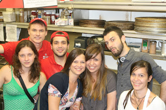 Photo: These are my 6 core cooking and expediting crew (From Bulgaria) whom I sponsored to come here on the Student J-1 Visa work and travel program. They were fantastic kids. Smart, funny, kind, very hard working. Customers were very pleased. This year for 2012, I sponsered 7 Bulgarians and 5 Irish Kids from the Work and Travel program! Come in and meet these kids and talk with them while you pick-up your order. They crave to mingle and chat with Americans.
