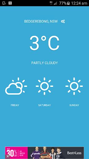 Scratch - Weather App