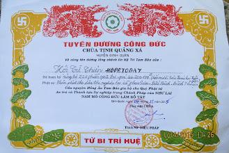 Photo: 200 phần quà cho người Dân Tộc ở Phan Sơn, Bắc Bình/Binh Thuân .  20 phần cho người già n