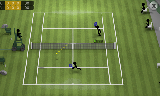 Stickman Tennis apkpoly screenshots 2