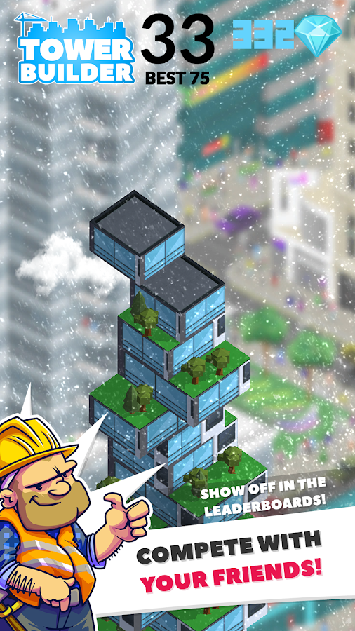 TOWER BUILDER: BUILD IT- screenshot