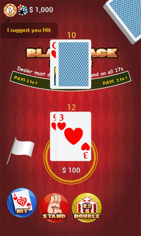 Vegas 21 Blackjack- screenshot