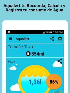 Resultado de imagen para aplicaciones tomar agua 2017 aqualert