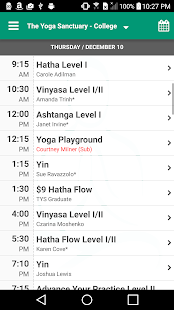 The Yoga Sanctuary- screenshot thumbnail