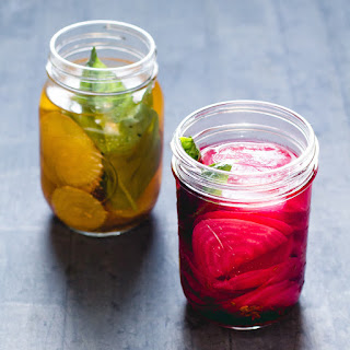 Fermented Beets with Cumin and Basil