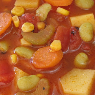 Pressure Cooker Vegetable Soup.
