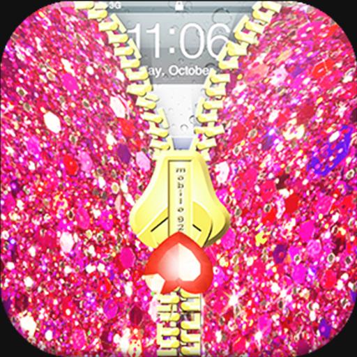 Nail Giltter Zipper LockScreen 遊戲 App LOGO-硬是要APP