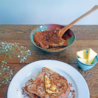 French Toast with Cinnamon Sugar.