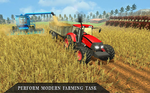 Farmer's Tractor Farming Simulator 2018 1.2 screenshots 5