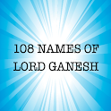 108 names of Ganesh icon