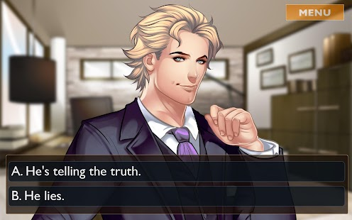 Otome: Is-it Love? Gabriel – Interactive Story- screenshot thumbnail