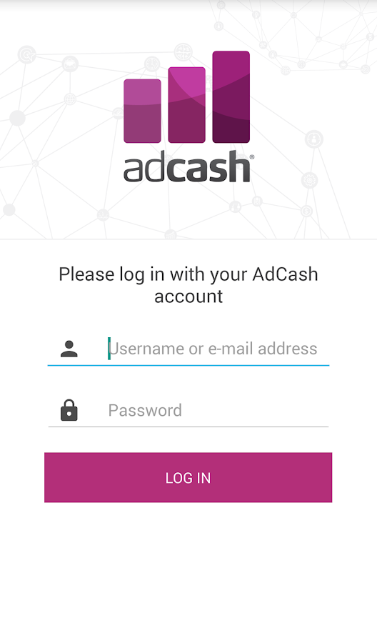 Adcash- screenshot