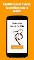 Screenshot of The Whip Sound App