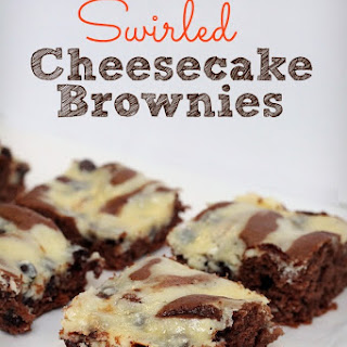 Swirled Cheesecake Brownies