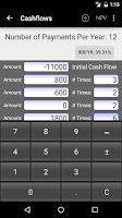 Screenshot of 10bii Financial Calculator