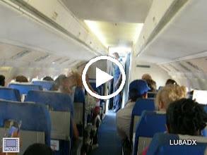 Video: Vapor que salia por la ventilación del avion