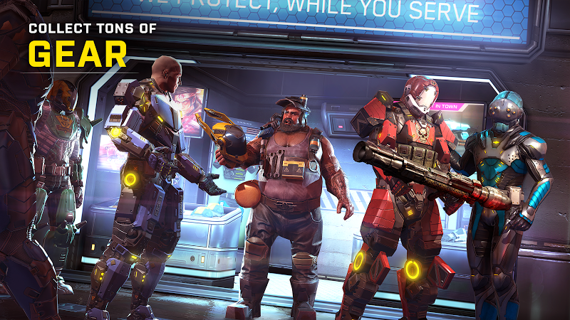 SHADOWGUN LEGENDS: Multiplayer FPS Shooting game Screenshot 4