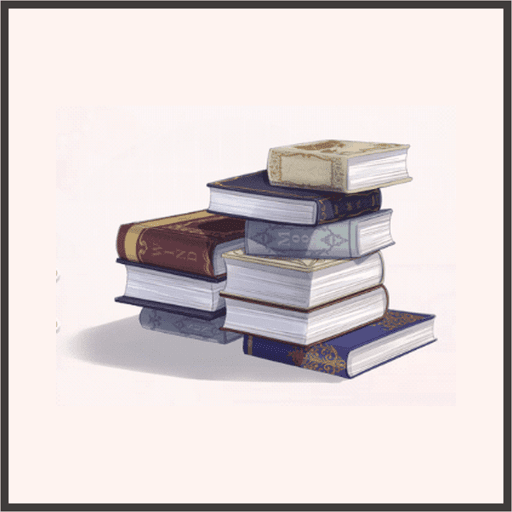 本の山(少)