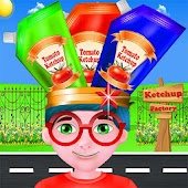Ketchup Factory Crazy Chef - Cooking Games