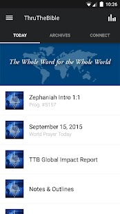 Thru The Bible Radio Network- screenshot thumbnail